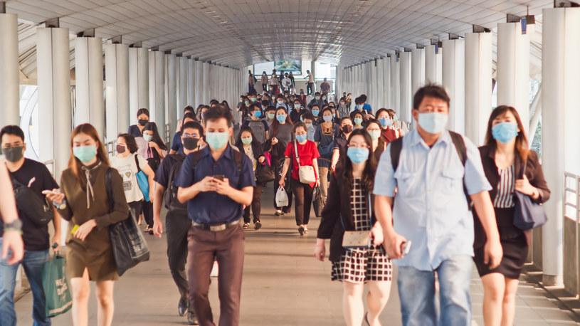 Próbki do badań nad pochodzeniem koronawirusa zbierano w całym Wuhan /123RF/PICSEL