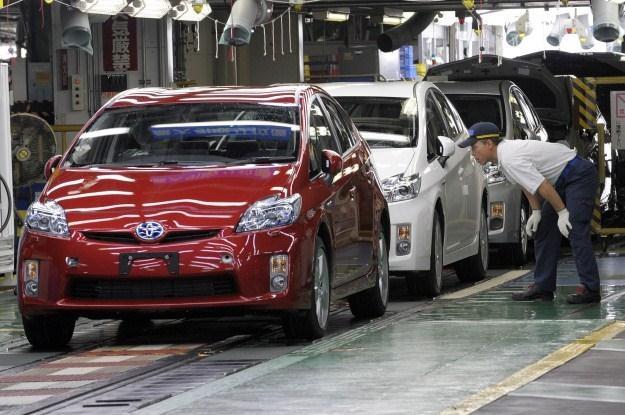 Problem dotyczy m.in. Toyoty Prius /AFP