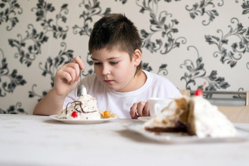 Problem otyłości u dzieci dotyczy już prawie 1/3 populacji w Polsce /123RF/PICSEL