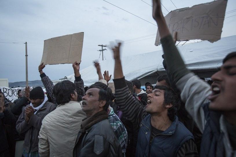 Problem uchodźczy wciąż czeka na rozwiązanie /Marek Berezowski /Reporter
