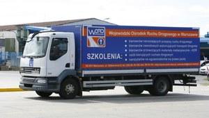 Problem z prawem jazdy na ciężarówki