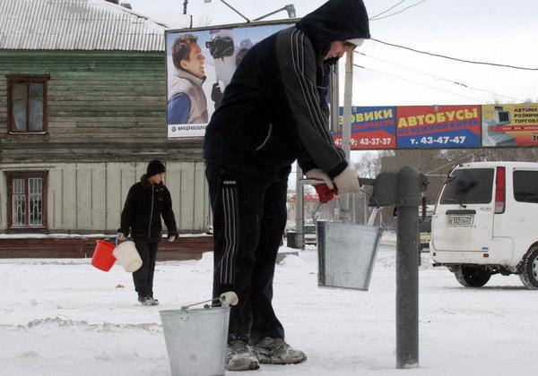 Problemy Rosji z jej infrastrukturą są znaczne /AFP