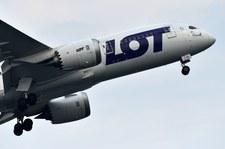 Problemy samolotu LOT. Zdecydowano o powrocie do Warszawy
