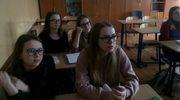 Próbny egzamin z matematyki i nauk przyrodniczych w gimnazjum nr 18 w Lublinie
