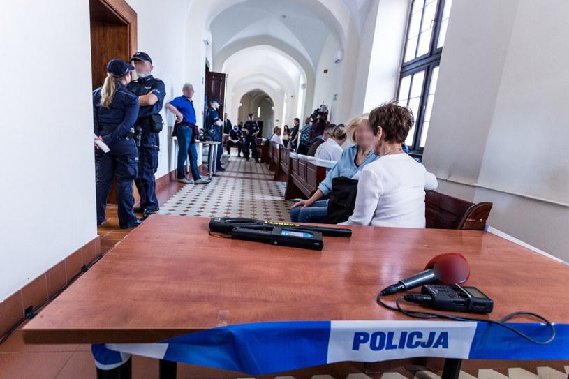 Proces policjantów Komendy Policji Wrocław Stare Miasto oskarżonych o znęcanie się nad Igorem Stachowiakiem, zdjęcie z 2018 roku /Krzysztof Kaniewski /Reporter