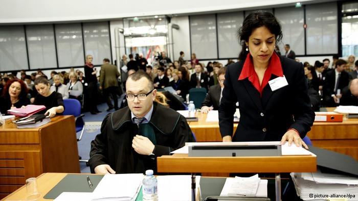 Proces przeciwko Polsce przed Europejskim Trybunałem Praw Człowieka w Strassburgu, 3.12.2013 /Deutsche Welle