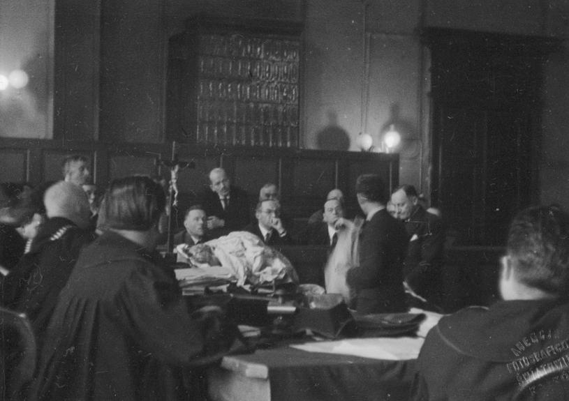 Proces Rity Gorgonowej, 1933 r. /Ze zbiorów Narodowego Archiwum Cyfrowego