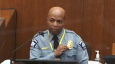 Proces w sprawie śmierci George'a Floyda. Zeznania szefa policji