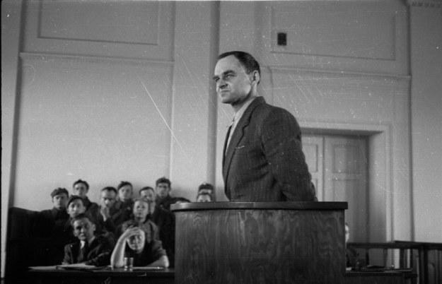 Proces Witolda Pileckiego /CAF /PAP