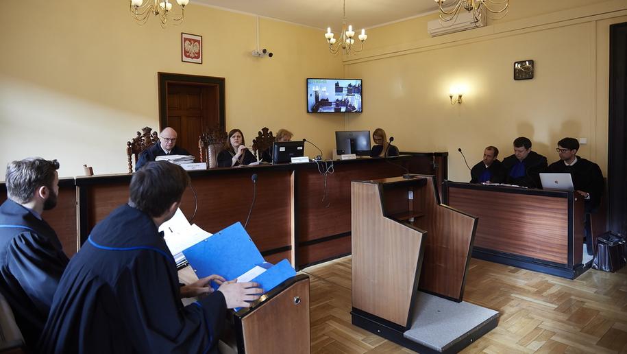 Proces ws. otrzęsin przed gdańskim sądem / Adam Warżawa    /PAP