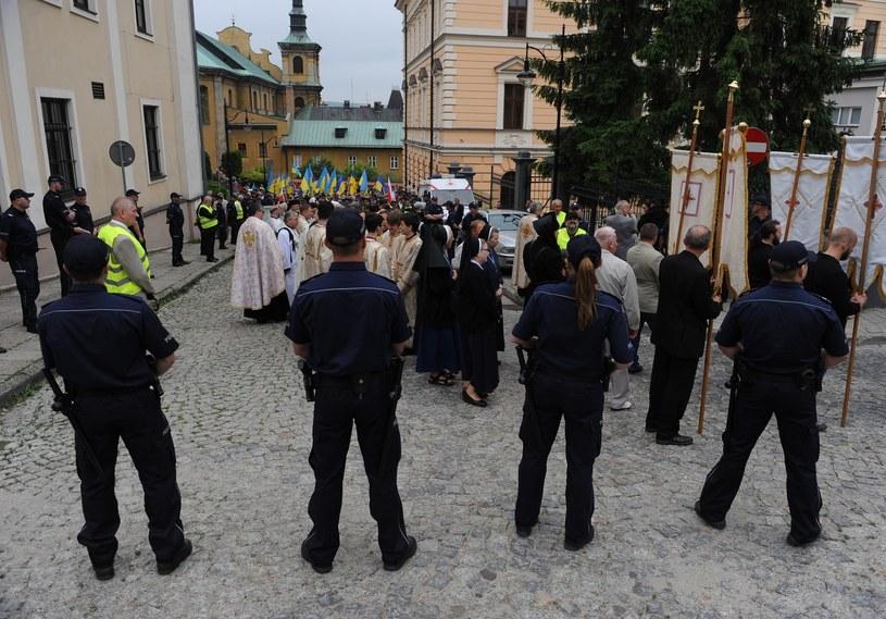Procesja grekokatolików w Przemyślu /Lukasz Solski/ /East News