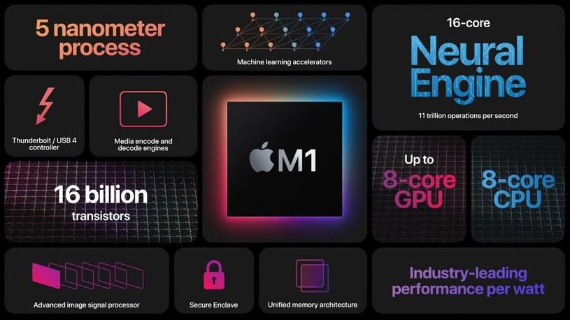 Procesor Apple M1 /materiały prasowe