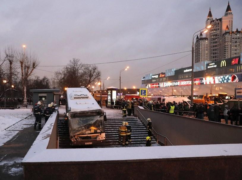 Producent autobusu: Kierowca nie użył hamulców /Sergei Ilnitsky /PAP/EPA