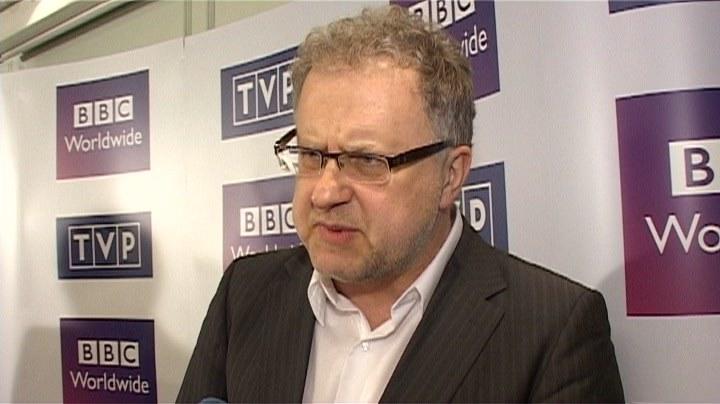 """Producent Dariusz Jabłoński jest przekonany, że """"Szpiedzy w Warszawie"""" okażą się hitem /INTERIA"""