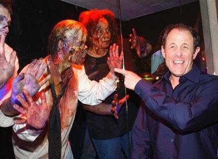 Producent Marc Abraham jak widać nie obawia się wcielonego zła, fot. Vince Bucci /Getty Images/Flash Press Media