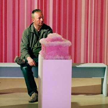 Producent Raimond Goebel na planie Nadziei fot.Pandora Film, Studio Filmowe Kalejdoskop /