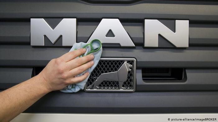 Producent samochodów ciężarowych MAN szykuje masowe zwolnienia /picture-alliance/imageBROKER /Deutsche Welle