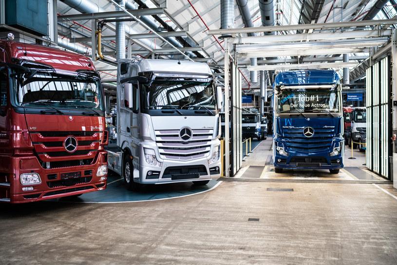 Produkcja ciężarówek stanęła, podobnie jak ich sprzedaż /