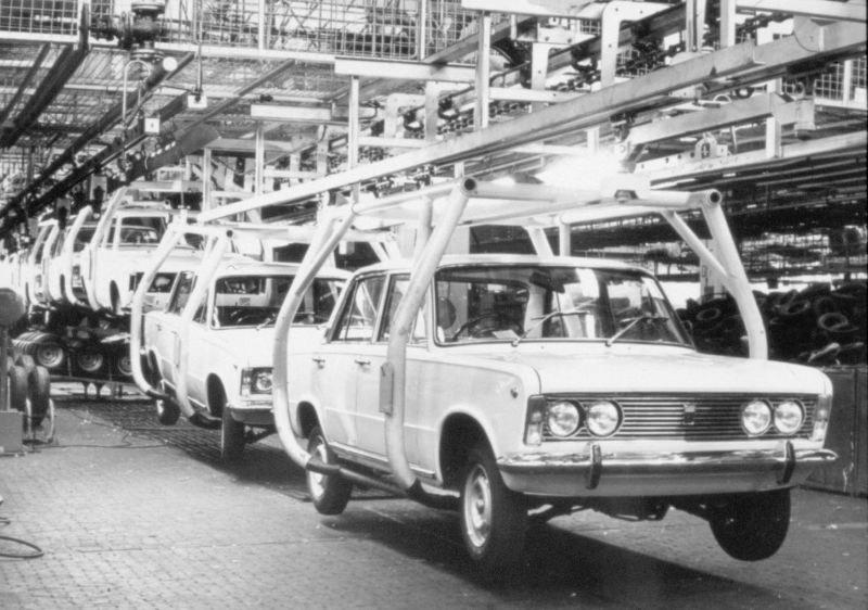 Produkcja Fiata 125 /