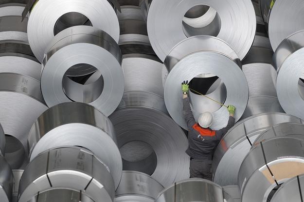 Produkcja przemysłowa w strefie euro w marcu 2011 r. spadła o 0,2 proc. miesiąc do mieiąca /AFP