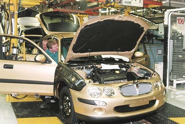 Produkcja Rovera 25 - czy doczekamy się jej na Żeraniu? (kliknij) /INTERIA.PL