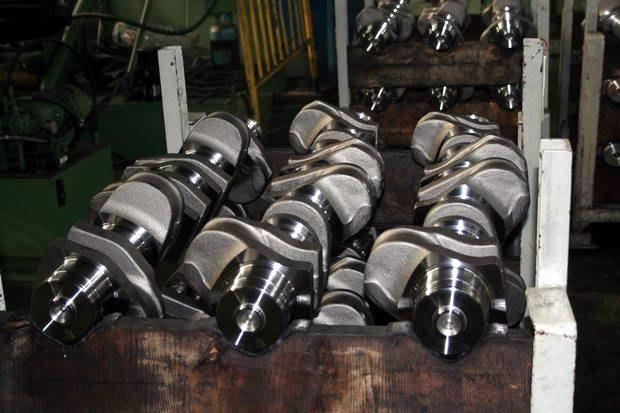 Produkcja wałów dla Mercedesa / Kliknij /INTERIA.PL