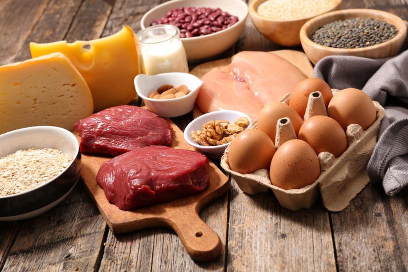 Produkty białkowe /©123RF/PICSEL