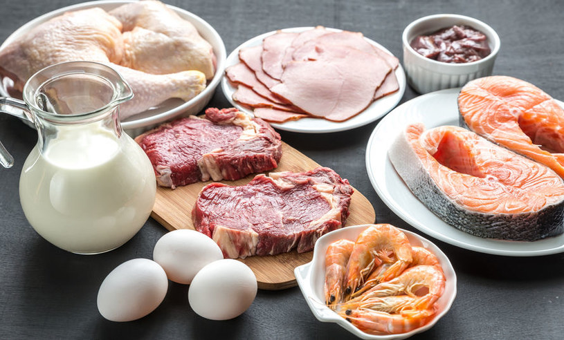 Produkty bogate w białko /©123RF/PICSEL