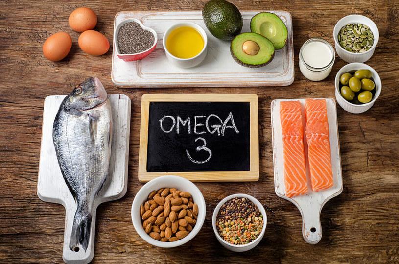 Produkty bogate w kwasy omega-3 /©123RF/PICSEL