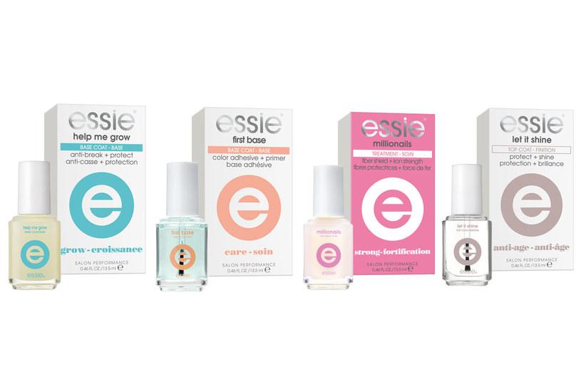 Produkty essie z nowej gamy do profesjonalnej pielęgnacji paznokci /materiały prasowe
