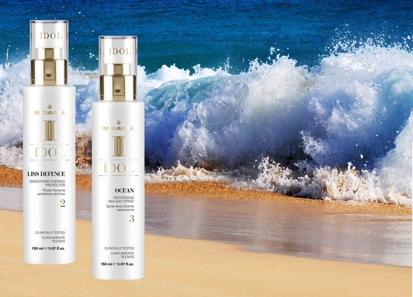 Produkty marki Medavita pomogą letnim fryzurom i uczynią je trwałymi /materiały prasowe