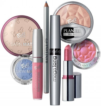 Produkty użyte do makijażu /materiały prasowe
