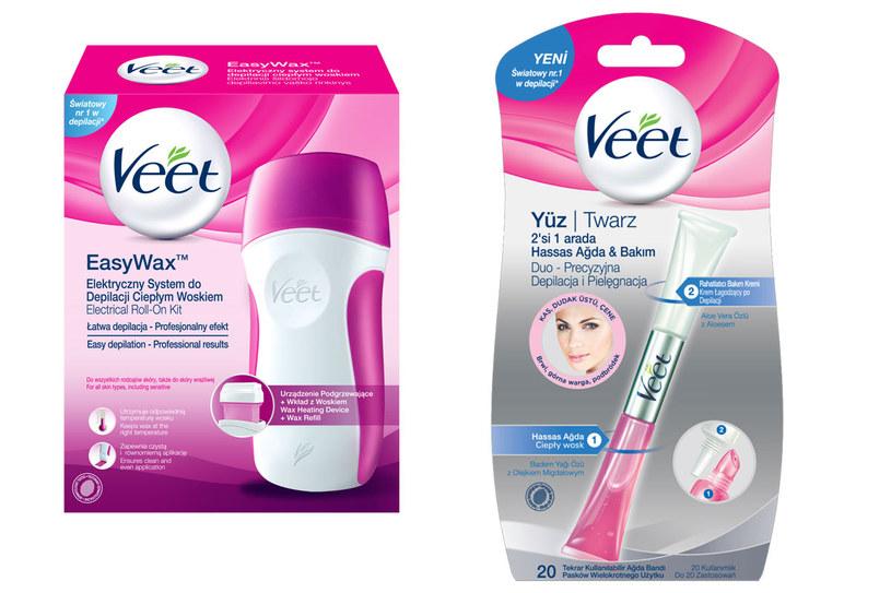 Produkty Veet EasyWax i Veet Duo /materiały prasowe