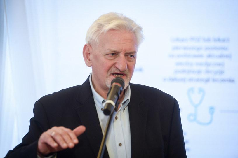 Prof. Andrzej Horban /Zbyszek Kaczmarek /Reporter