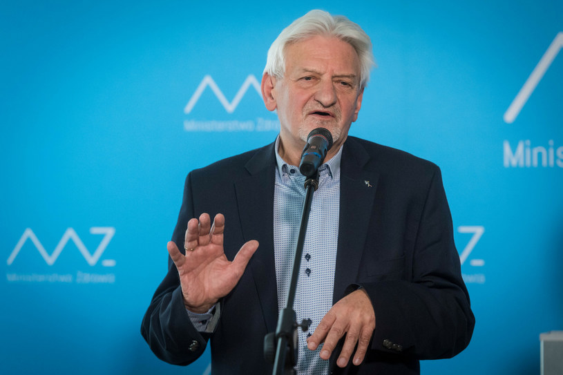 Prof. Andrzej Horban / Jacek Dominski /REPORTER /Reporter