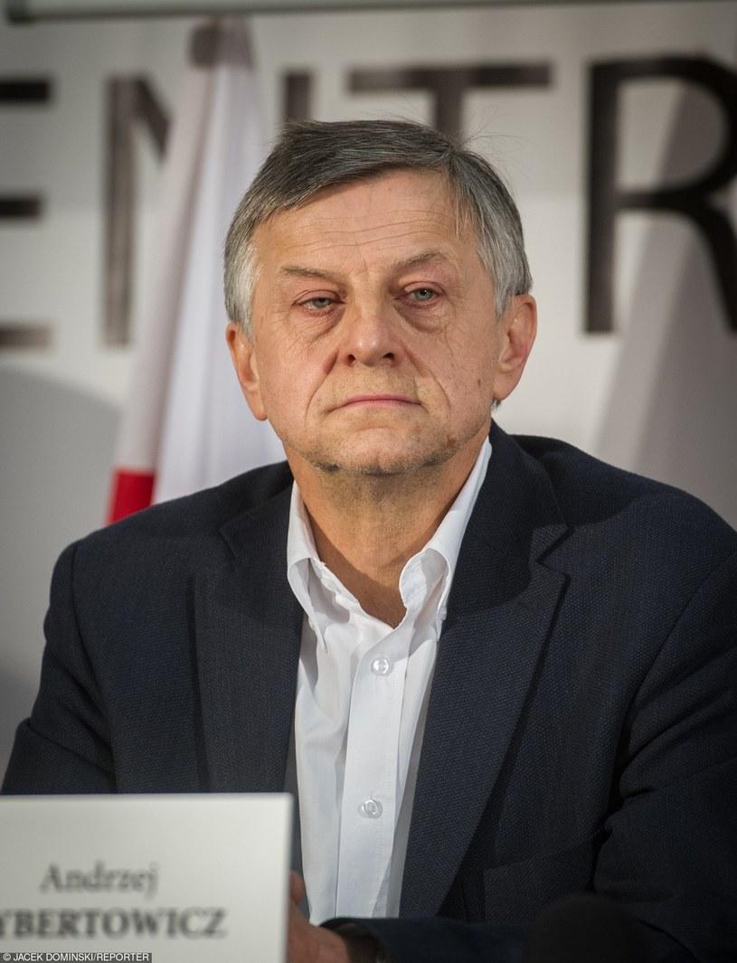 Prof. Andrzej Zybertowicz /Jacek Dominski/REPORTER /East News