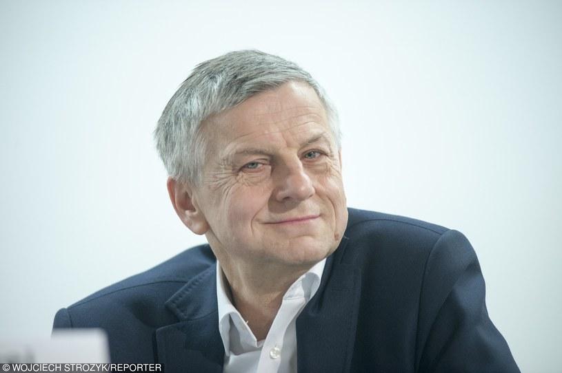 prof. Andrzej Zybertowicz /Wojciech Stróżyk /Reporter