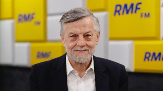 Prof. Andrzej Zybertowicz /Karolina Bereza /Archiwum RMF FM