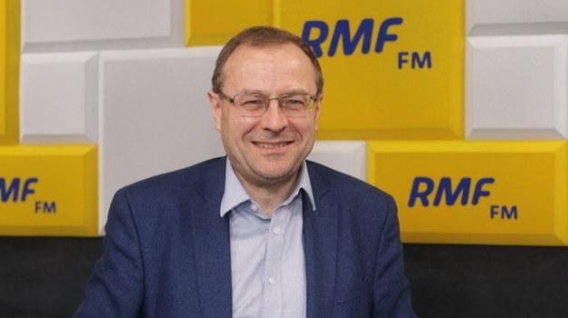Prof. Antoni Dudek /Archiwum RMF FM