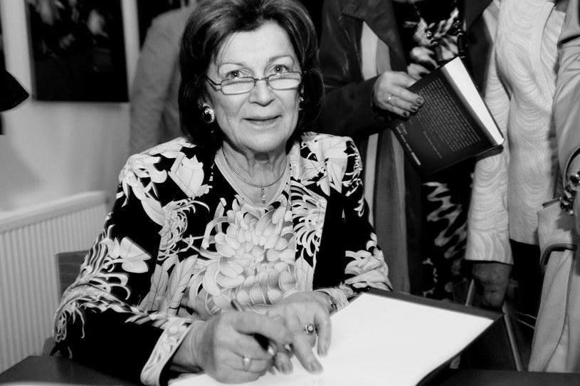 Prof. Ariadna Gierek-Łapińska (1938-2020) /LUKASZ KALINOWSKI /East News