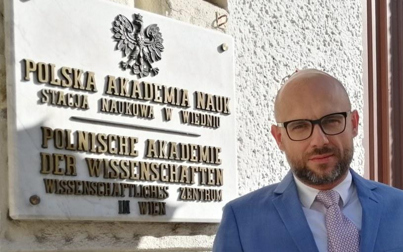 Prof. Arkadiusz Radwan /archiwum prywatne