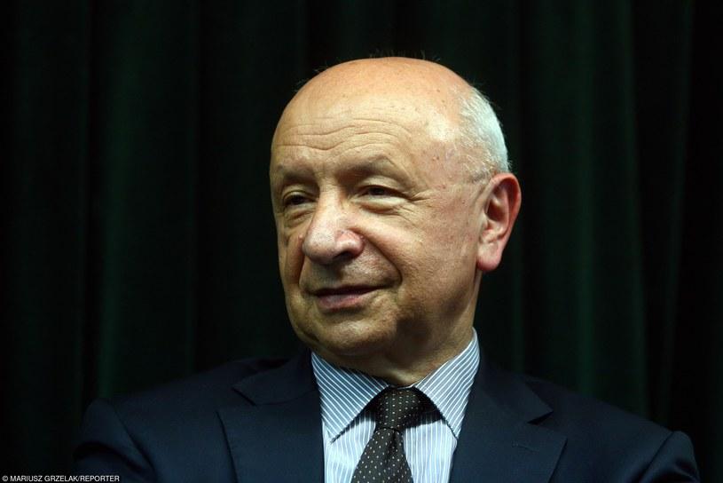 Prof. Bogdan Chazan /Mariusz Grzelak /Reporter