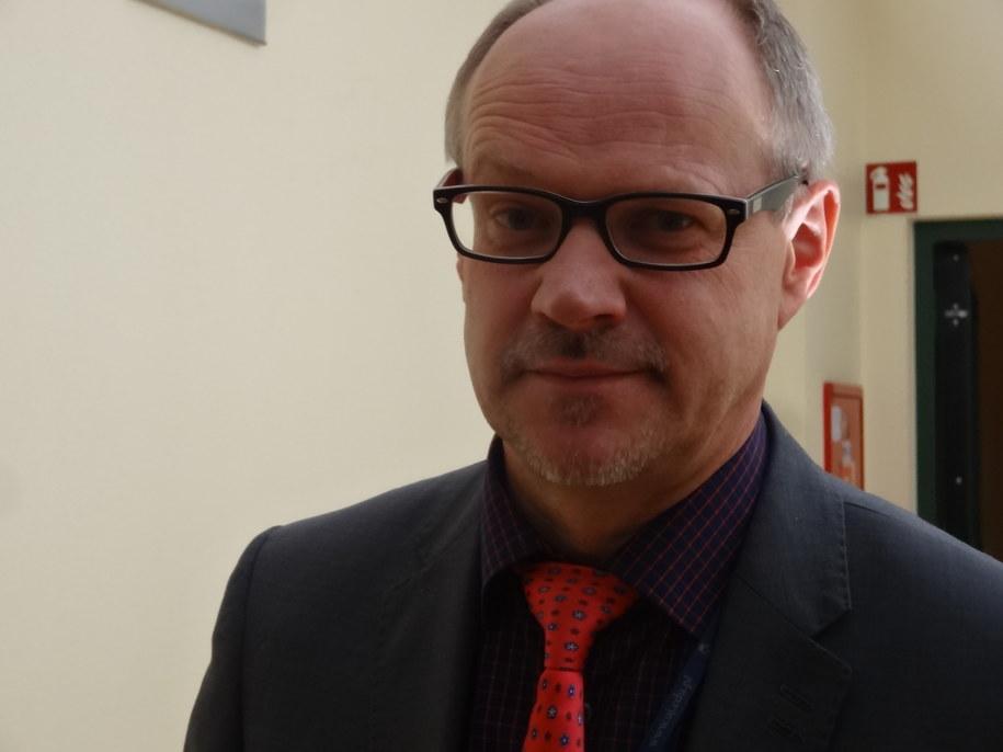 prof. Bogusław Pawłowski, kierownik Katedry Biologii Człowieka Uniwersytetu Wrocławskiego. /Grzegorz Jasiński /RMF FM