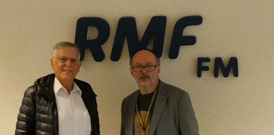Prof. Dan Shechtman w RMF FM /Malwina Zaborowska /RMF FM