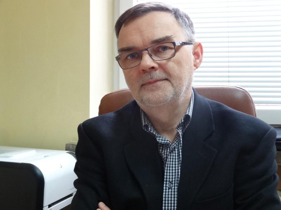 prof. dr hab. inż. Waldemar Korzeniowski /Grzegorz Jasiński /RMF FM