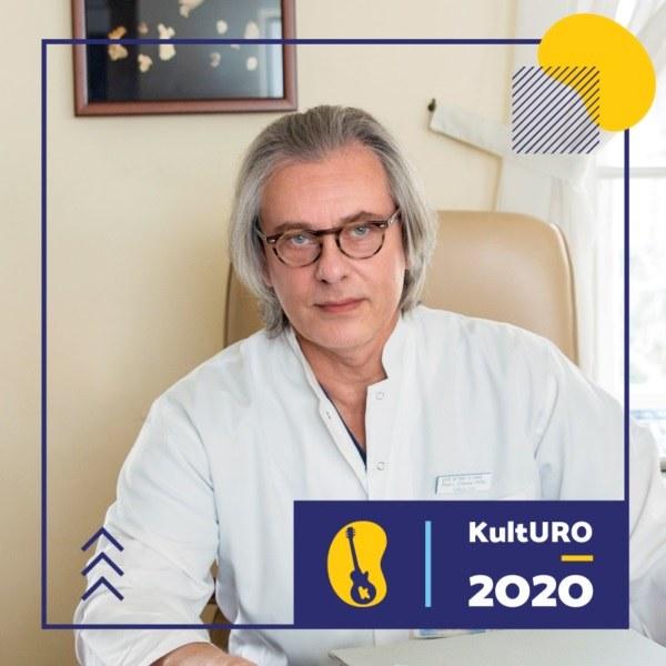 Prof. dr hab. Piotr Chłosta – pomysłodawca Festiwalu KultURO, a po godzinach frontman rockowego zespołu Endopower. /KultURO /