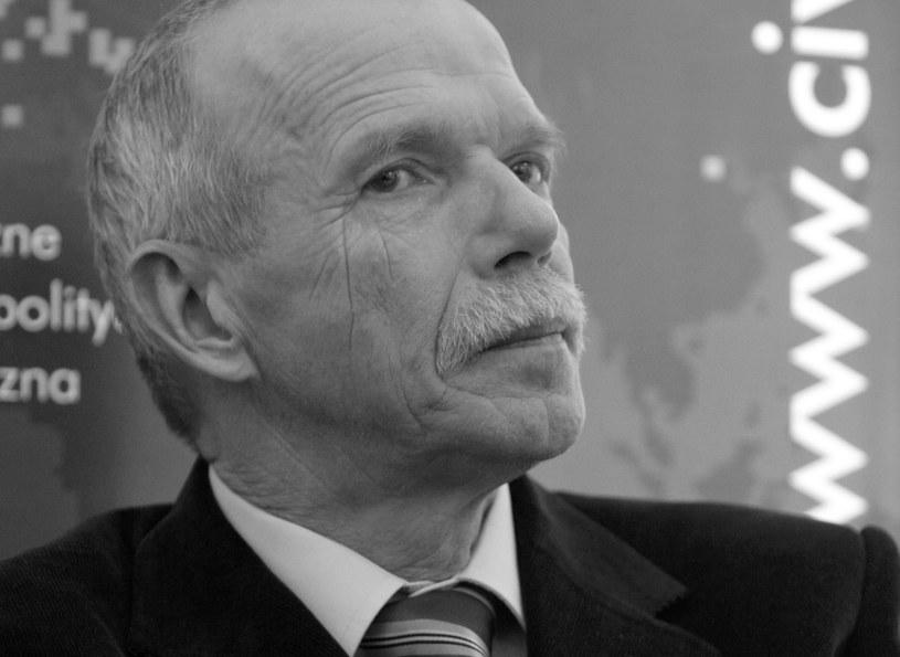 prof. Edmund Wnuk-Lipiński /Bartłomiej Zborowski /PAP