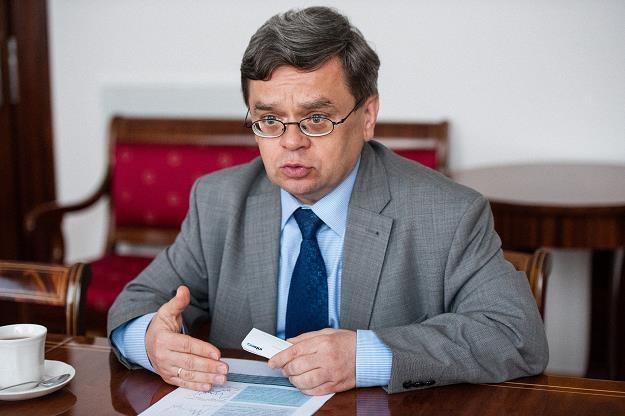 Prof. Eugeniusz Gatnar, członek Rady Polityki Pieniężnej. Fot. Waldemar Kompała /INTERIA.PL