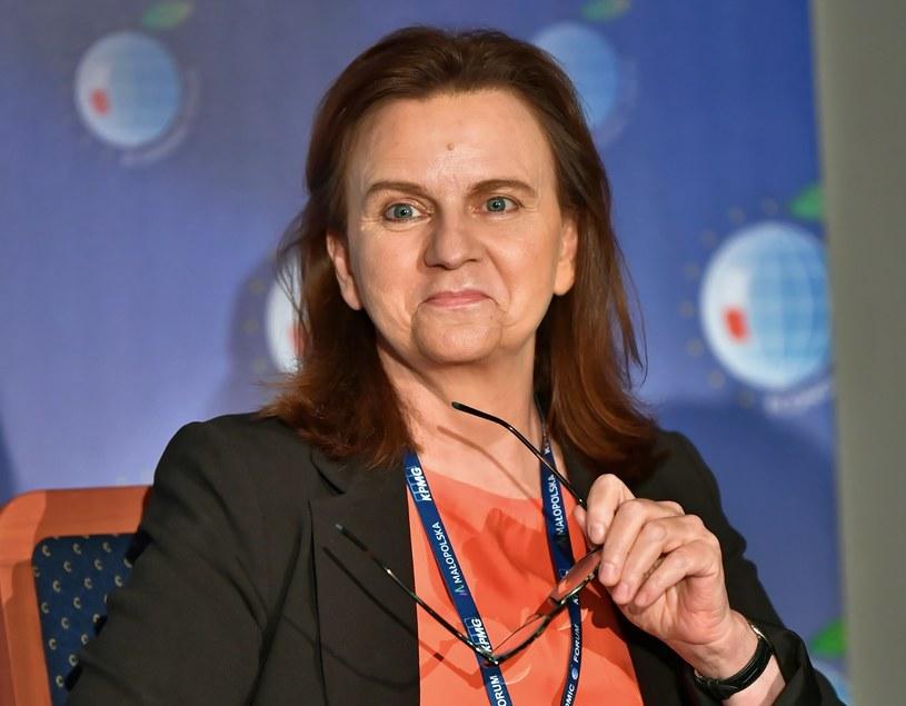 prof. Gertruda Uścińska, prezes ZUS / Maciej Kulczyński    /PAP