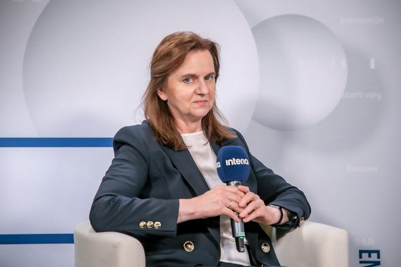 Prof. Gertruda Uścińska, prezes ZUS /Fot. Ireneusz Rek /INTERIA.PL